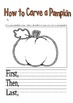 Bundle of 18 Fall Halloween and Thanksgiving Writing Promp