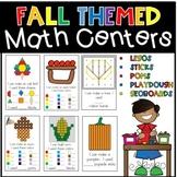 Fall Hands On Math Centers September October November Activities
