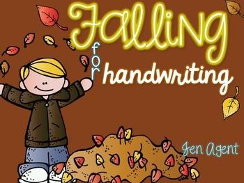 Fall Handwriting