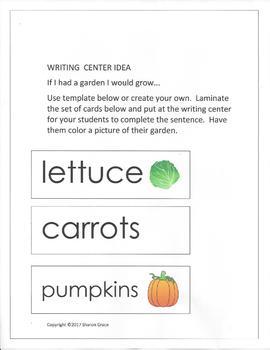 "Fall Harvest  - A ""Center""ed Approach"