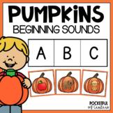 Pumpkins Beginning Sounds