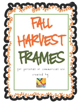 Fall Harvest Borders Free Commercial or Personal Use