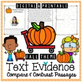 Compare and Contrast Non-Fiction Texts (Fall Theme)
