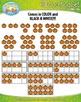Fall Harvest Counting and Ten Frames Math Clipart {Zip-A-Dee-Doo-Dah Designs}