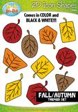 Fall Harvest 2D Icon Shapes Clipart {Zip-A-Dee-Doo-Dah Designs}