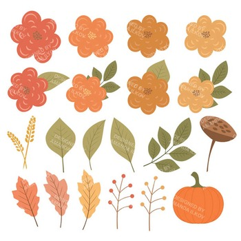 Fall Harvest Wreath in Antique Peach