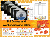 Fall Harvest preschool curriculum package. Great for daycare and homeschool.
