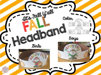 Fall Headband FREEBIE