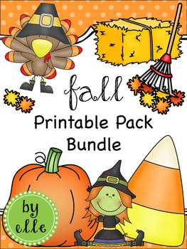 Fall Holiday Printable Pack Bundle