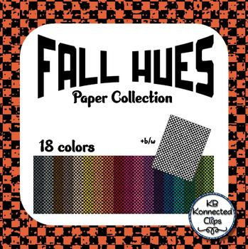 Fall Hues Digital Paper Collection