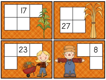 Fall Hundreds Chart Activities