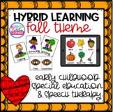 Fall Hybrid & Distance Learning for Preschool Special Educ