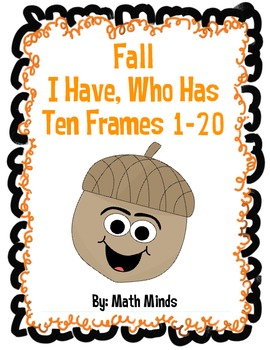 Fall I Have, Who Has? Ten Frames 1-20