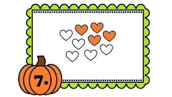 Fall Identifying Fractions Walk-About