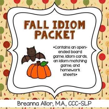 Fall Idiom Packet