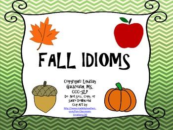 Fall Idioms