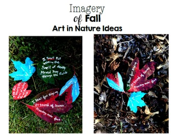 Fall Imagery Creative Writing Lesson