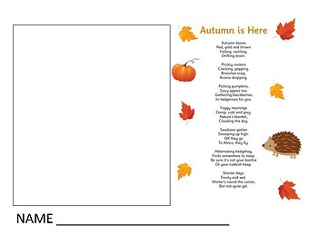 Fall Imagery Poem