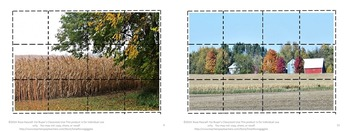 Fall/Autumn, Puzzles, Kindergarten, Special Education ,Cut and Paste Puzzles