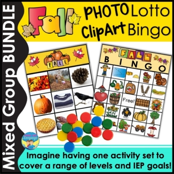 Riddle Picture Bingo Game- Fall!