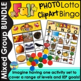 Photo Activities Fall Vocabulary, Riddles and Inferences for Mixed Groups