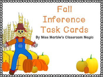Fall Inference Task Cards