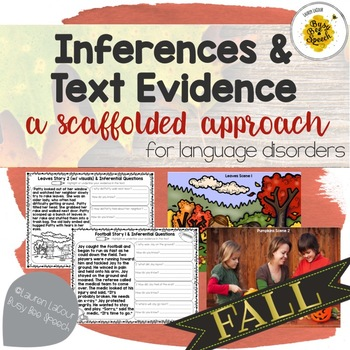 Fall Inferences & Text Evidence