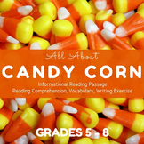Fall Informational Reading - All About Candy Corn