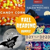 Fall Informational Reading Bundle