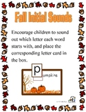 Fall Initial Sounds