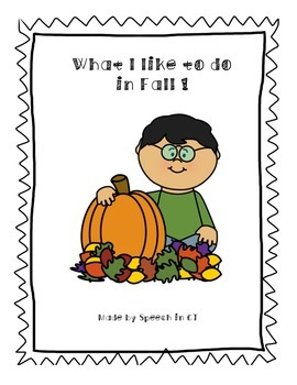 Fall Interaction Adapted Book