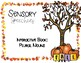 Fall Interactive Book: Plural Nouns