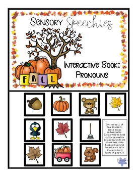 Fall Interactive Book: Pronouns