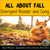 Fall Emergent Reader and Activities for First Grade Distan