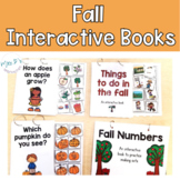Fall Interactive Books - Adapted Books for Fall Science &
