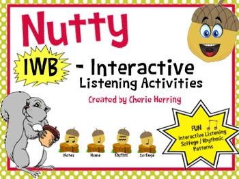 Nutty Rhythms and Solfa Squirrels on the IWB