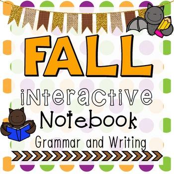 Fall Interactive Notebook - Grammar and Writing