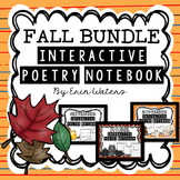 #basketbargains Fall Interactive Poetry Notebook {September, October, November}