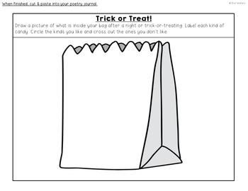 #basketbargains Fall Interactive Poetry Notebook {September, October, November}