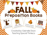 Fall Interactive Preposition Books {Apples, Acorns, Leaves