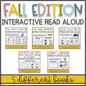 Fall Interactive Read Alouds