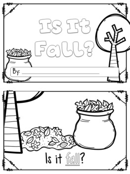 Fall Interactive Unit {Letterboxes}