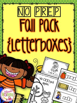 Fall Interactive Reading Pack {NO PREP}