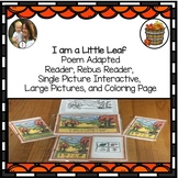 Fall Interactive Story: Circle Time, Reading Circle, I am