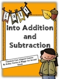 Fall Into Addition and Subtraction Common Core  Aligned
