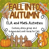 Fall Language Arts and Math
