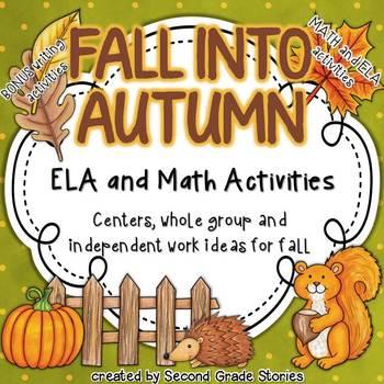 Fall Language Arts and Math