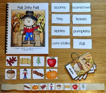 Fall Into Fall Adapted Books Unit