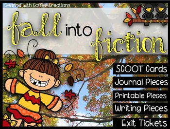 Fall Into Fiction Activities
