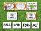Fall Into Form! Music Bulletin Board Visuals